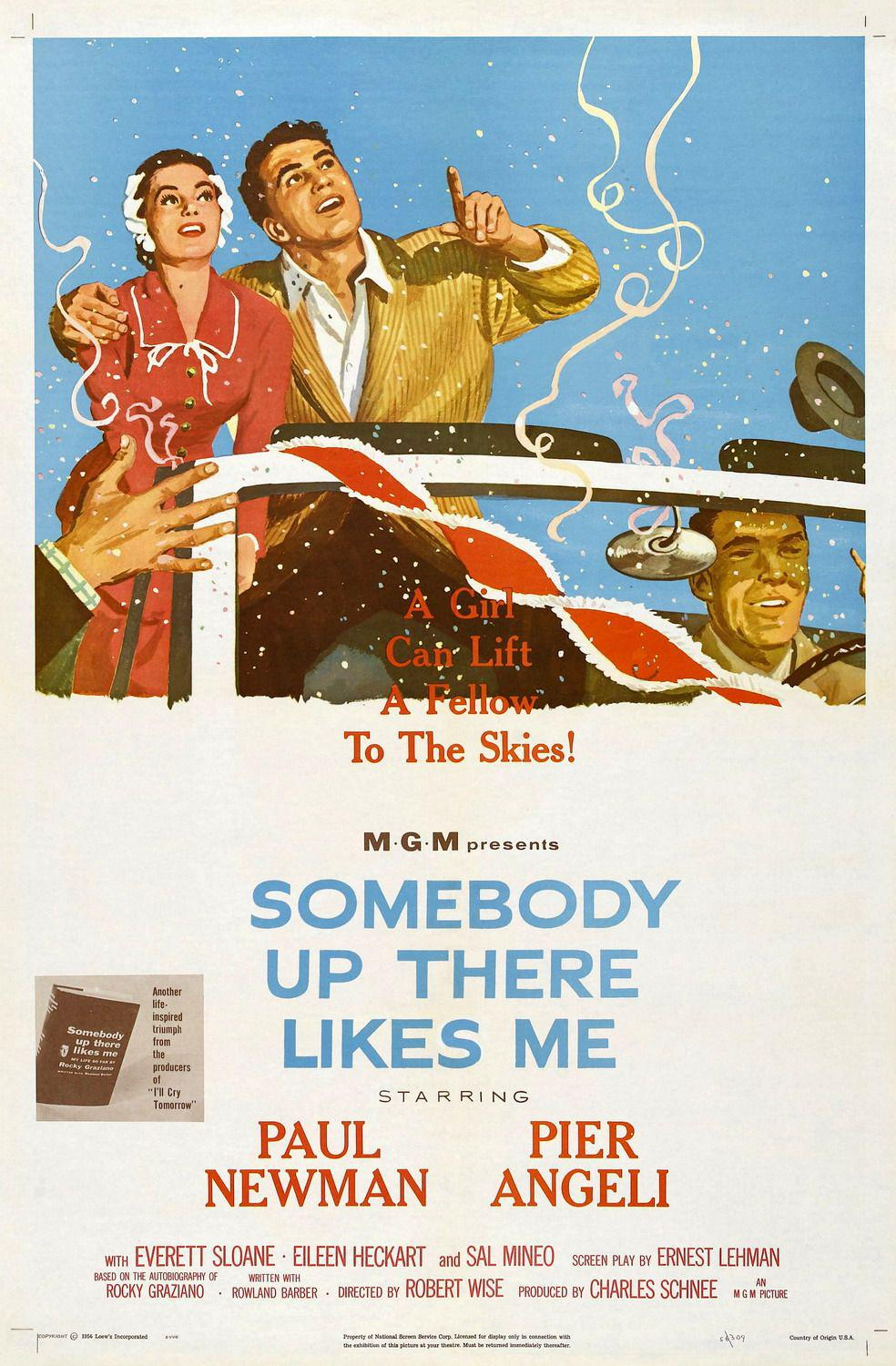 Film - Somebody up there likes me - Lassù qualcuno mi ama - Paul Newman