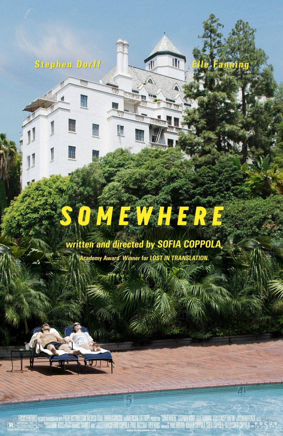 Film Poster - Somewhere - Stephen Dorff - Elle Fanning