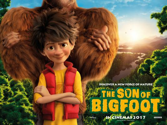 Son of Bigfoot - Bigfoot junior - poster