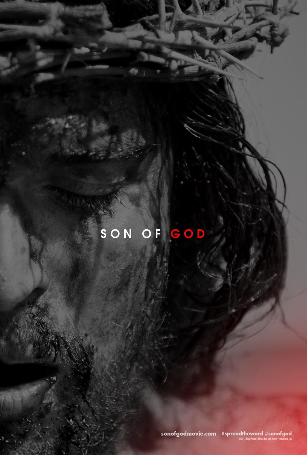 Son of God - Figlio di Dio - film poster - Christopher Spencer - Diogo Morgado: Gesù