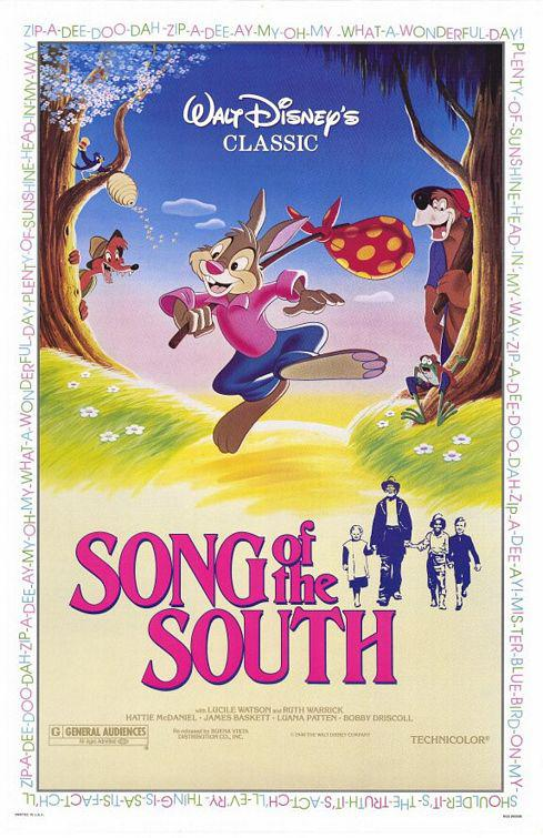 I Racconti dello Zio Tom - Song of the South - classic Disney film poster