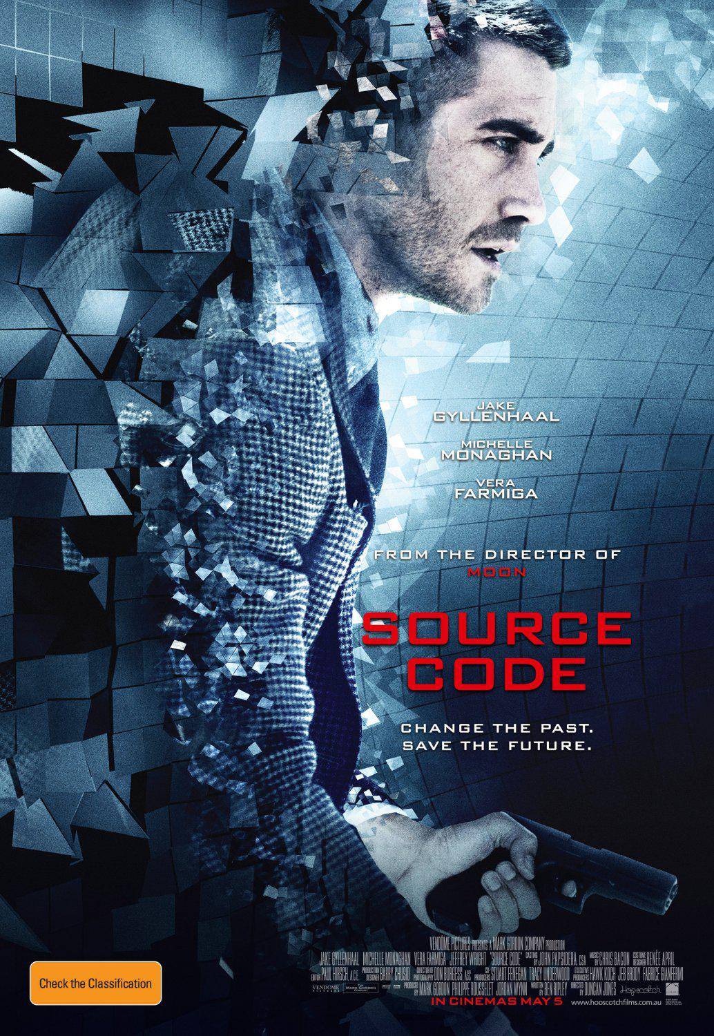 Source code - codice sorgente - Change the Past and Save the Future - Jake Gyllenhaal - Michelle Monaghan - Vera Farmiga