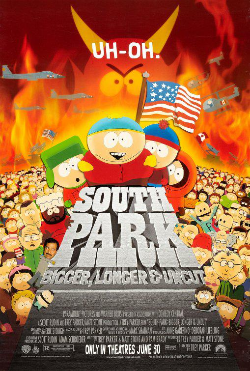 South Park bigger longer and uncut