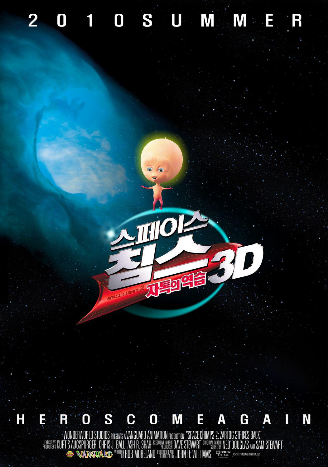 Space Chimps 2 - Ritorno di Zartog  - Space Chimps 2 - Zartog strike back -  poster