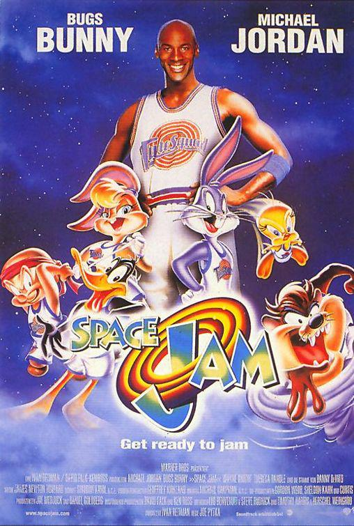 Film - Space Jam - Bugs Bunny - Michael Jordan