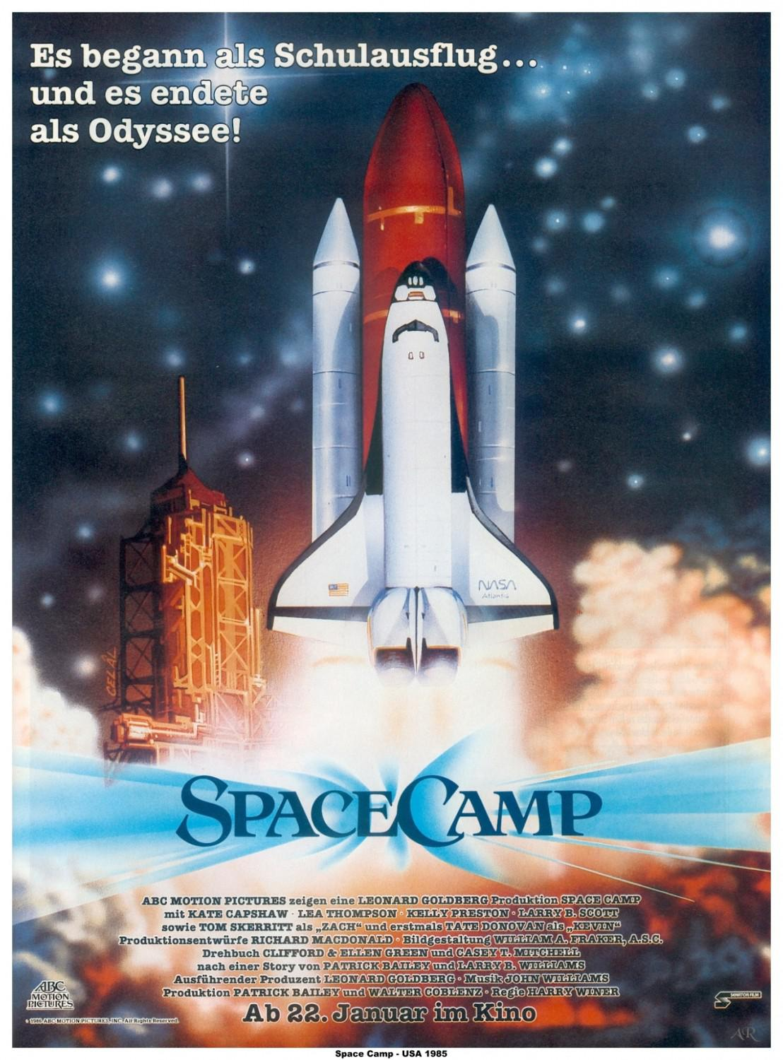 Spacecamp - poster