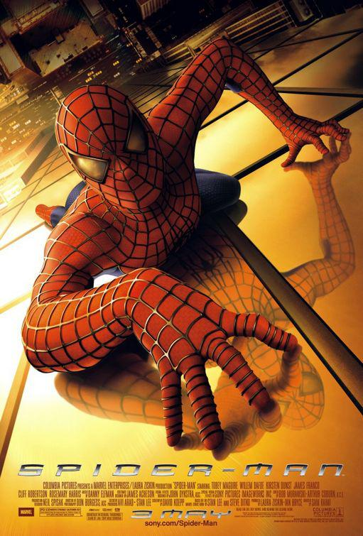 Spiderman 1 - Spider Man - Uomo Ragno - poster