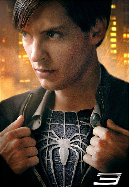 Spiderman 3 - Spider Man three - poster dark - special for cosplay