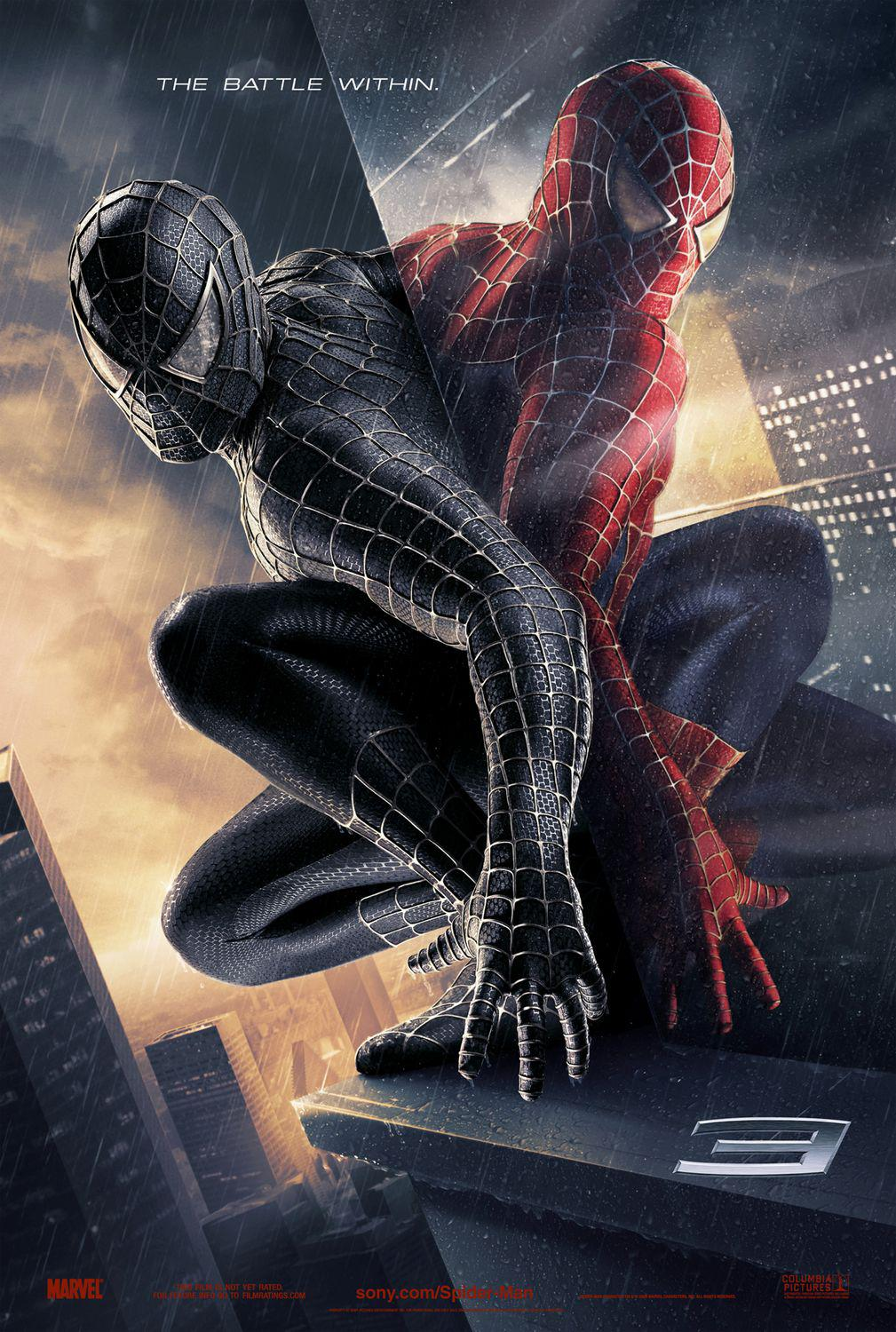 Spiderman 3 - Spider Man three - poster