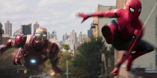 Spiderman homecoming and Ironman
