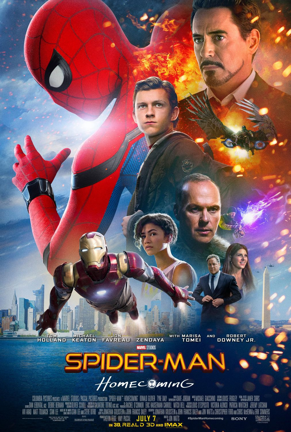 Spiderman homecoming - poster