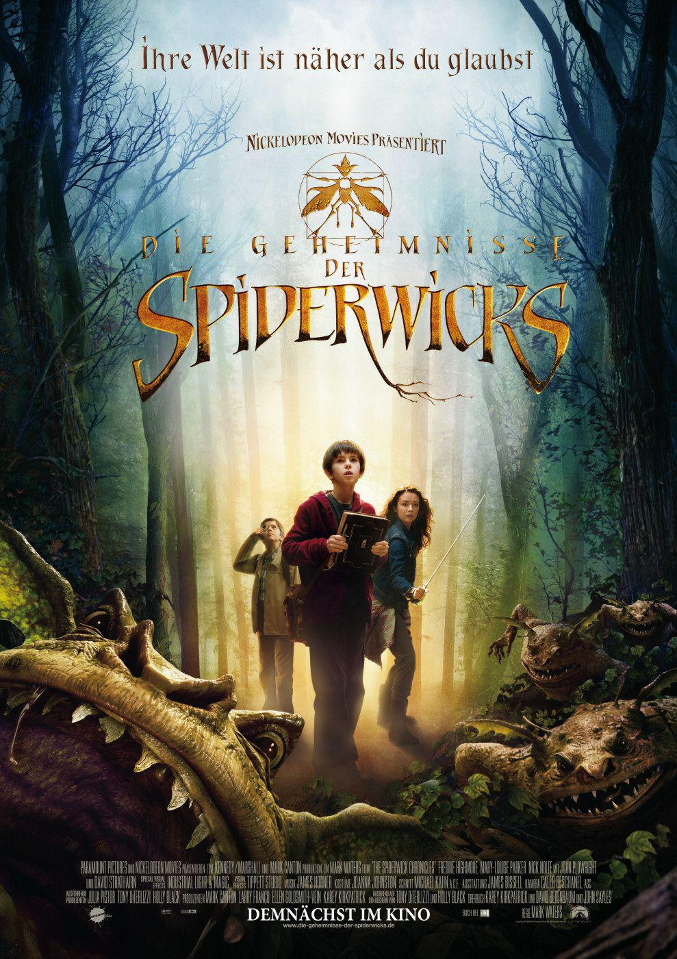 Spiderwick le Cronache - Spiderwick Chronicles - poster