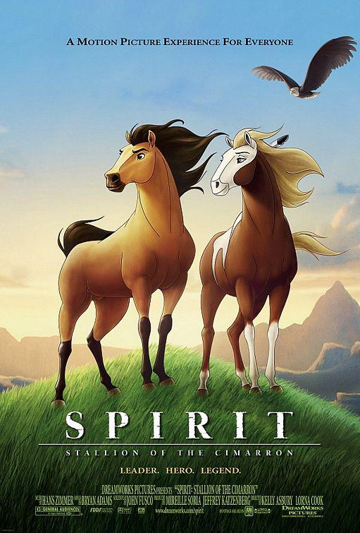 Spirit Stallion of the Cimarron - Stallone selvaggio ... animated film cartoon