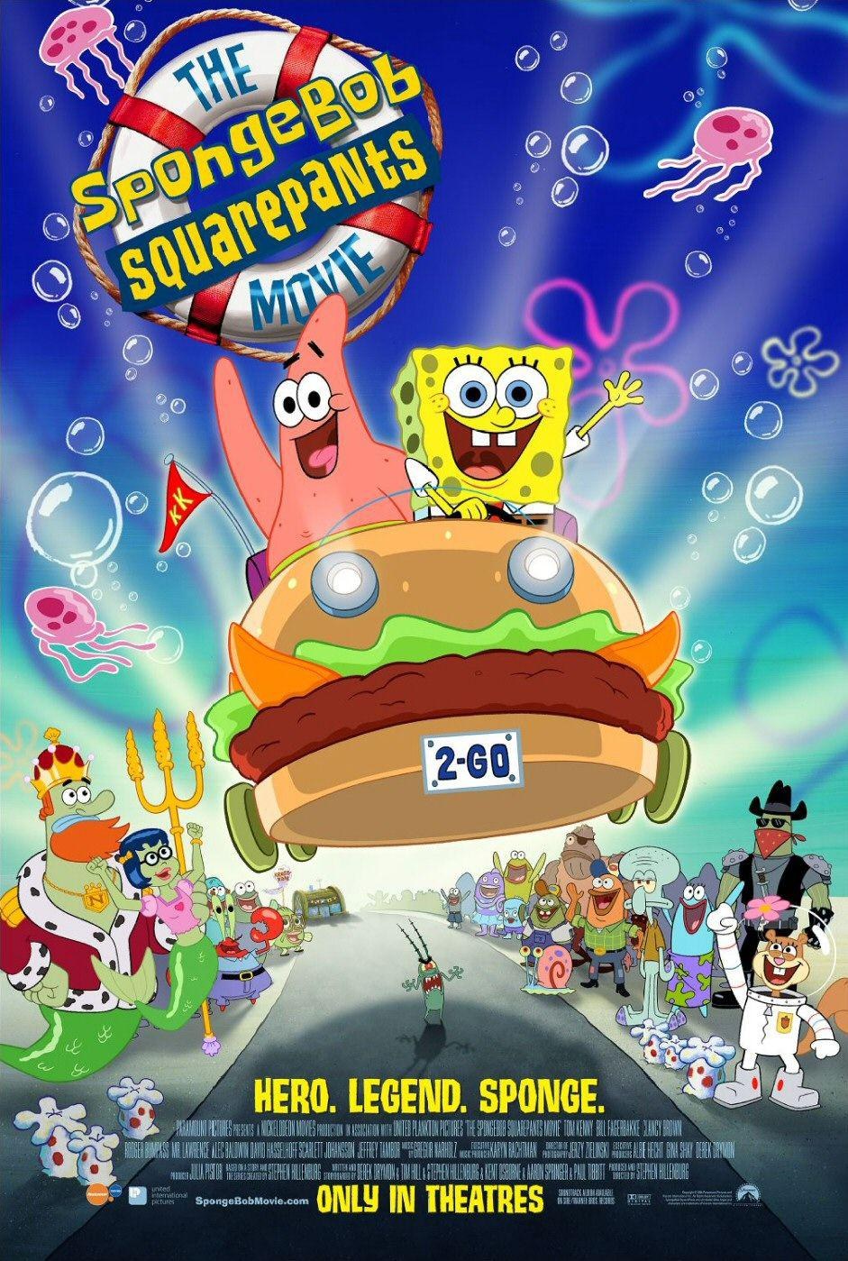 Spongebob il Film (Big Action) - poster