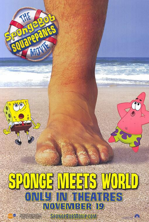 Spongebob Squarepants - Sponge out of Water