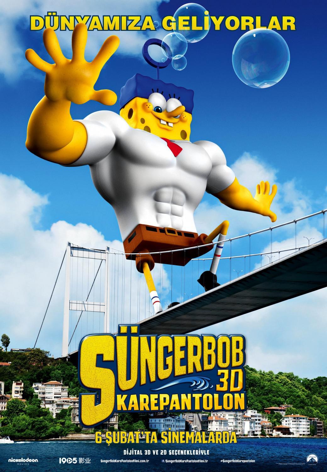 Spongebob Squarepants - Sponge out of Water - poster