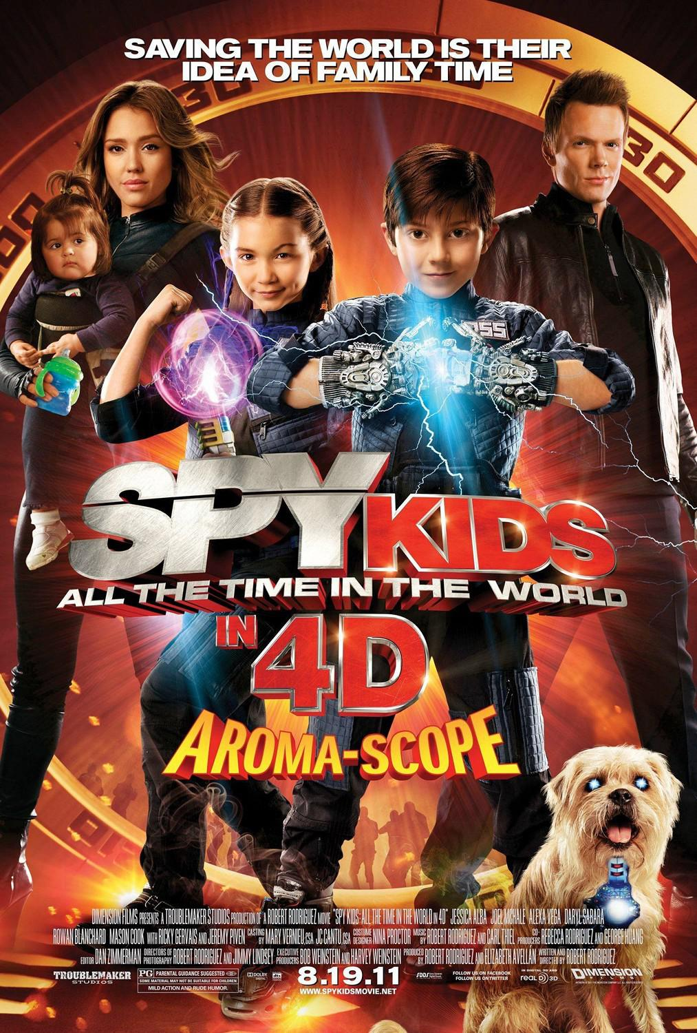 Spy Kids 4 - all the Time in the World - poster