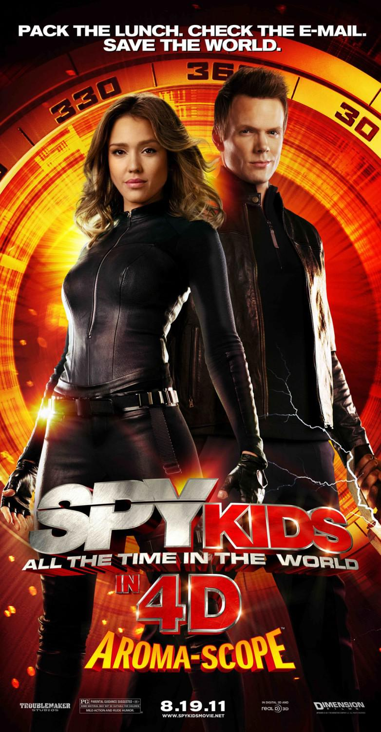Spy Kids 4 - all the Time in the World - pack the lunch. check the e-mail. save the world