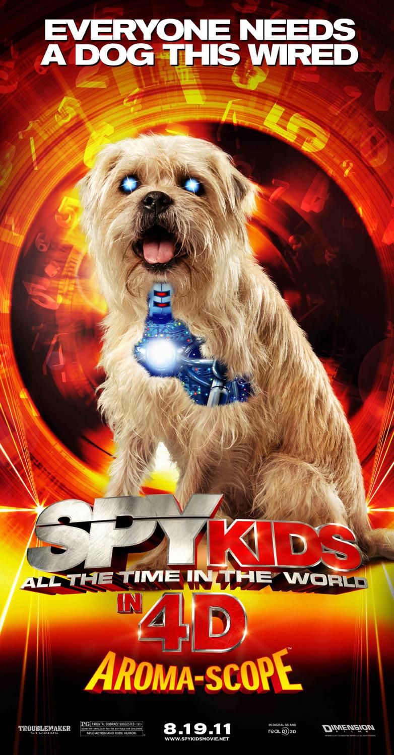 Spy Kids 4 - all the Time in the World - everyone needs a dog this wired