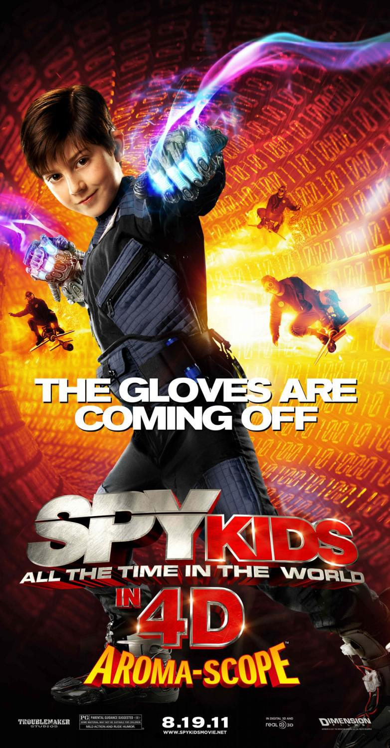 Spy Kids 4 - all the Time in the World - the gloves are coming off