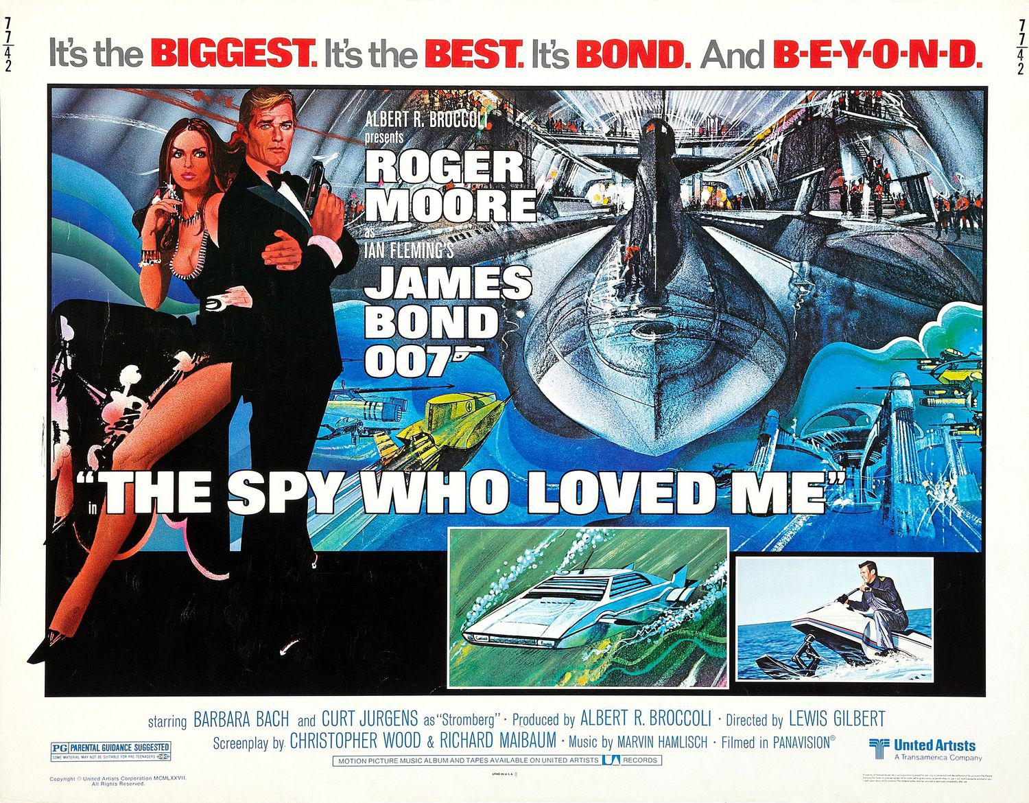 1977 - 007 La spia che mi amava - The spy who loved me - poster