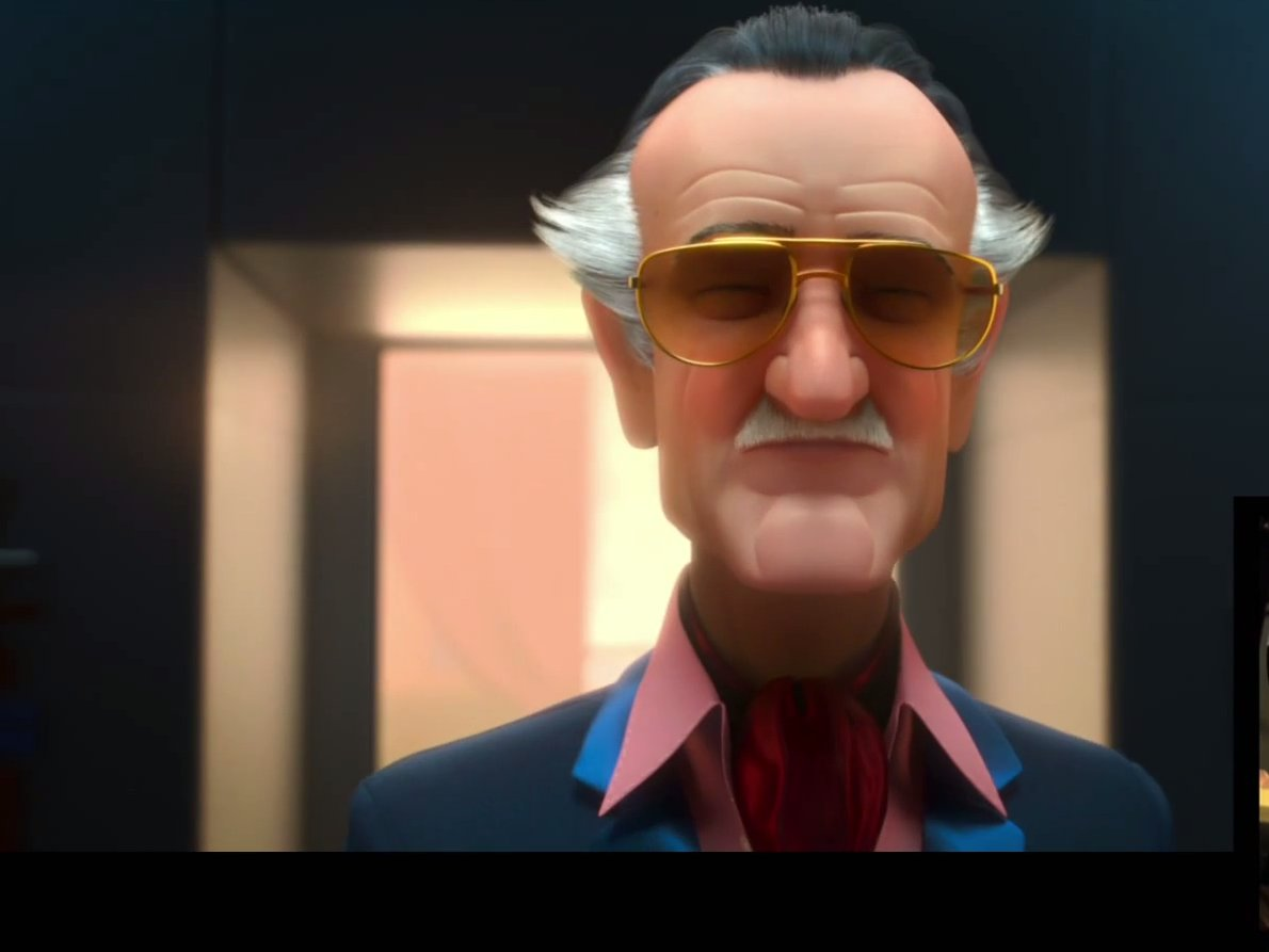 Stan Lee cameo - Cartoon in Big Hero 6