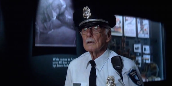 Stan Lee cameo - Captain America winter soldier