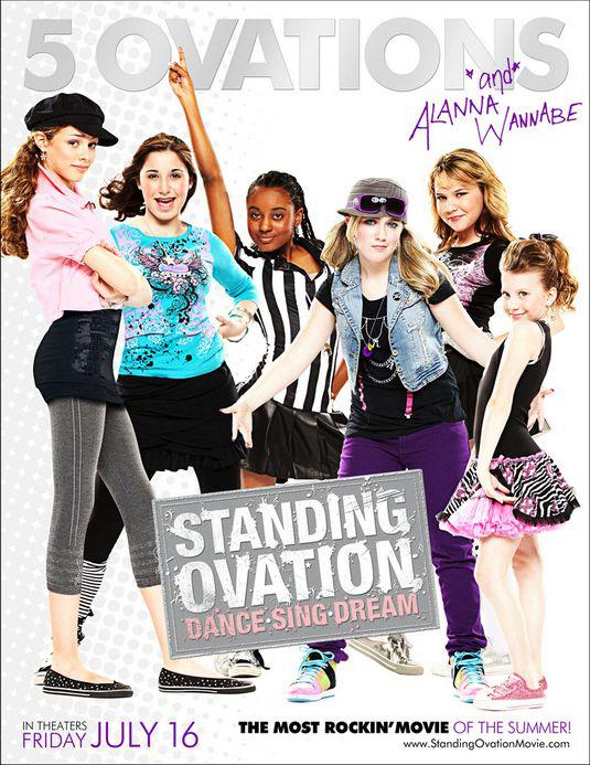 Standing ovation - 5 ovations and Alanna Wannabe - Dance Sing Dream - film poster