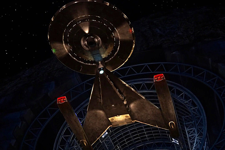 Star Trek Discovery - Series 2017 Telefilm - Discovery Ship - Spaceship