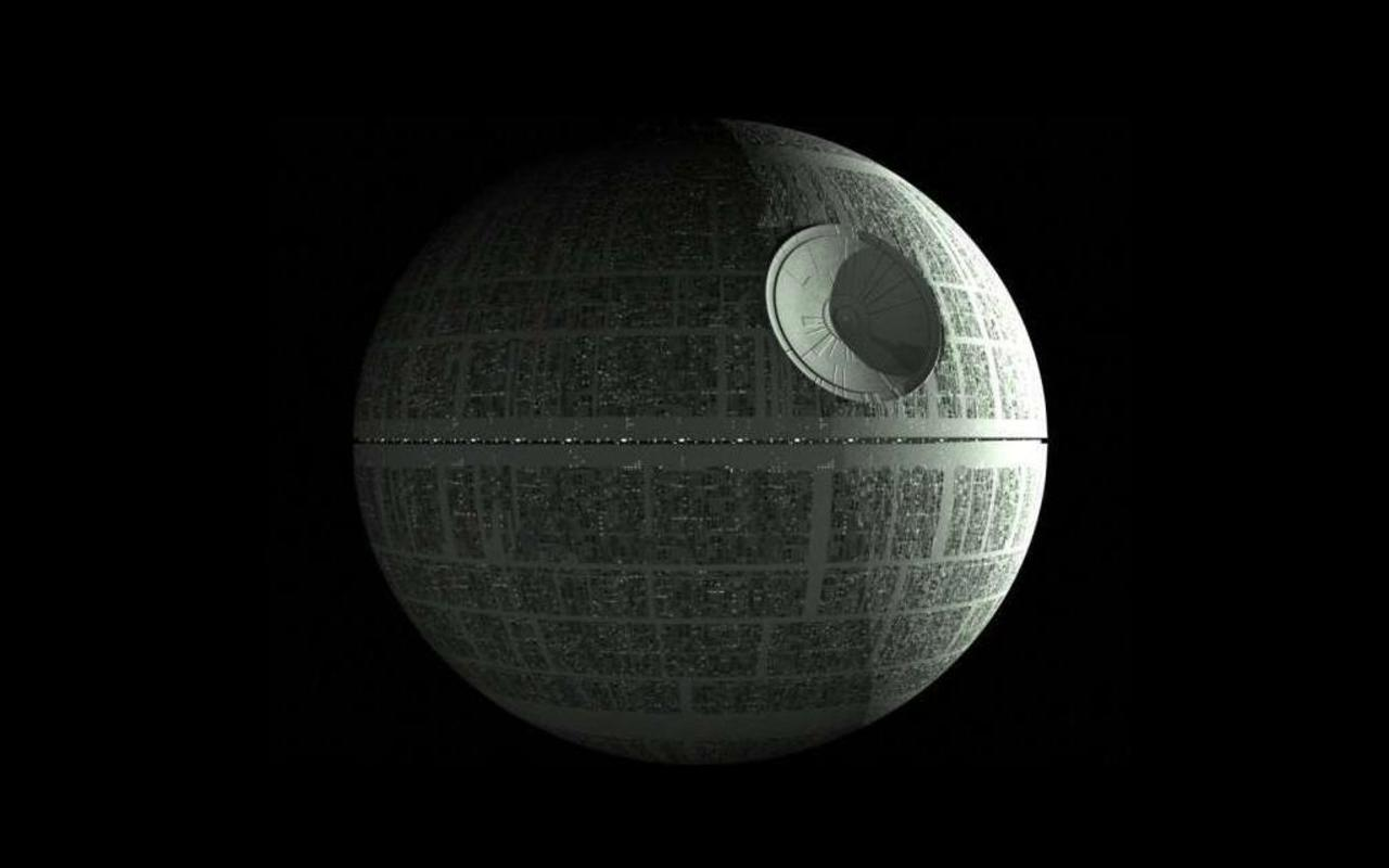Star Wars 4 - Guerre Stellari ... La Morte Nera ... Death Star ...