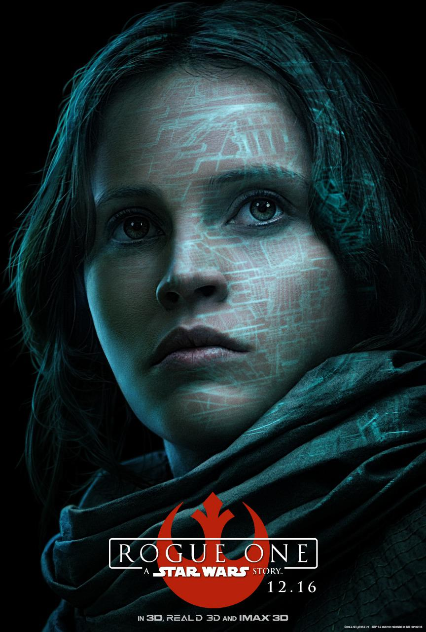 Star Wars - Rogue One a Star Wars story - Felicity Jones - Jyn Erso