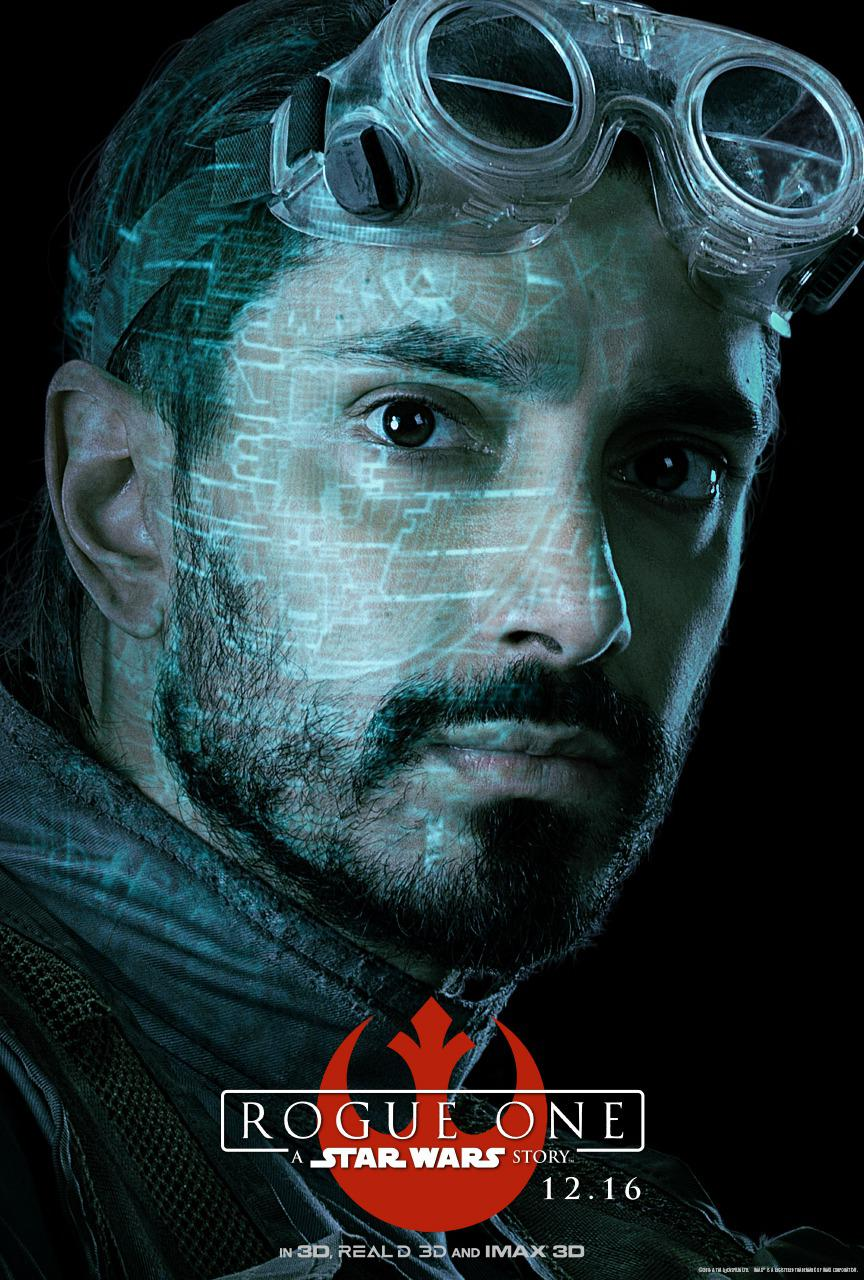 Star Wars - Rogue One a Star Wars story - Riz Ahmed - Bodhi Rook