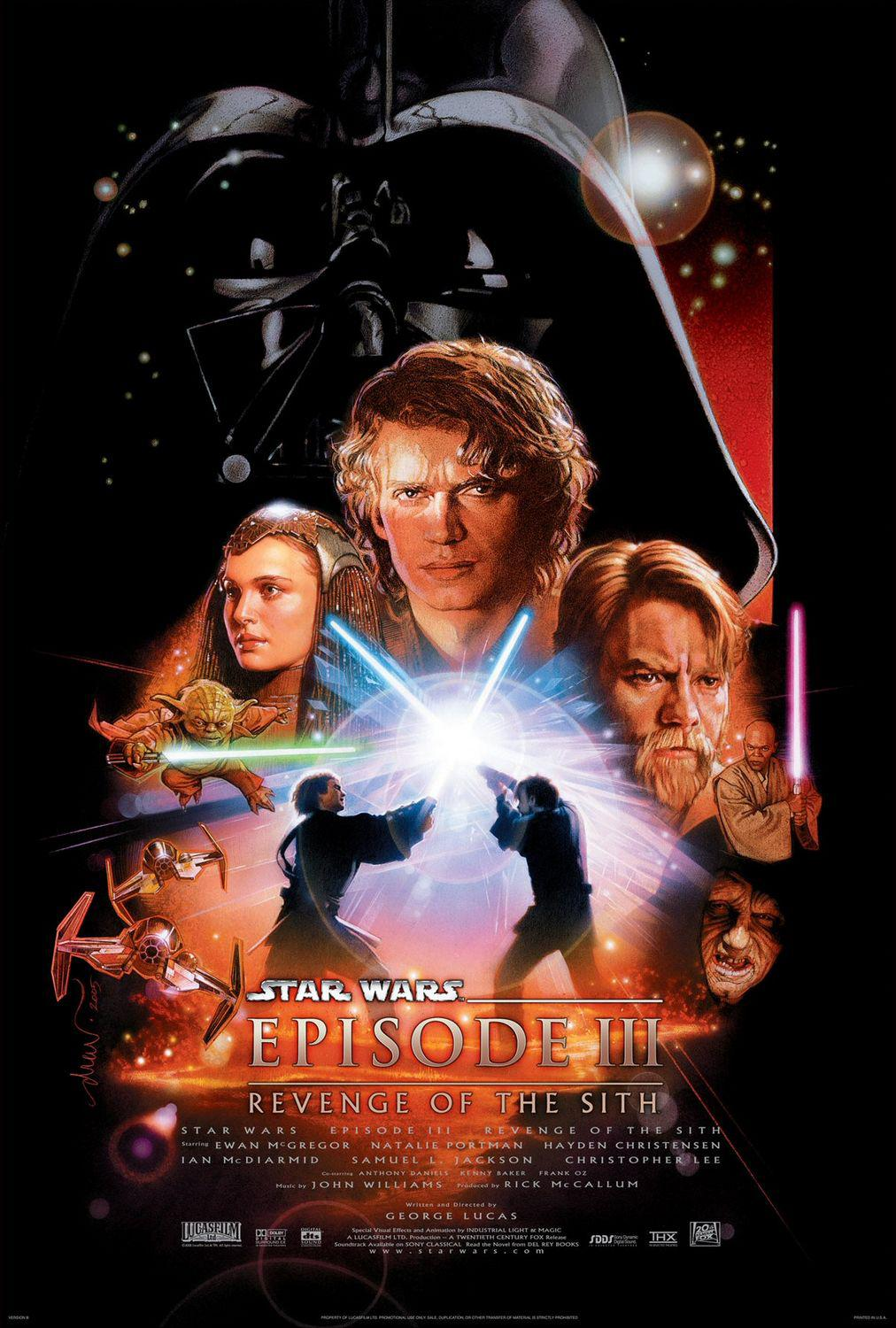 Star Wars 3 - la vendetta dei Sith - Revenge of the Sith - poster