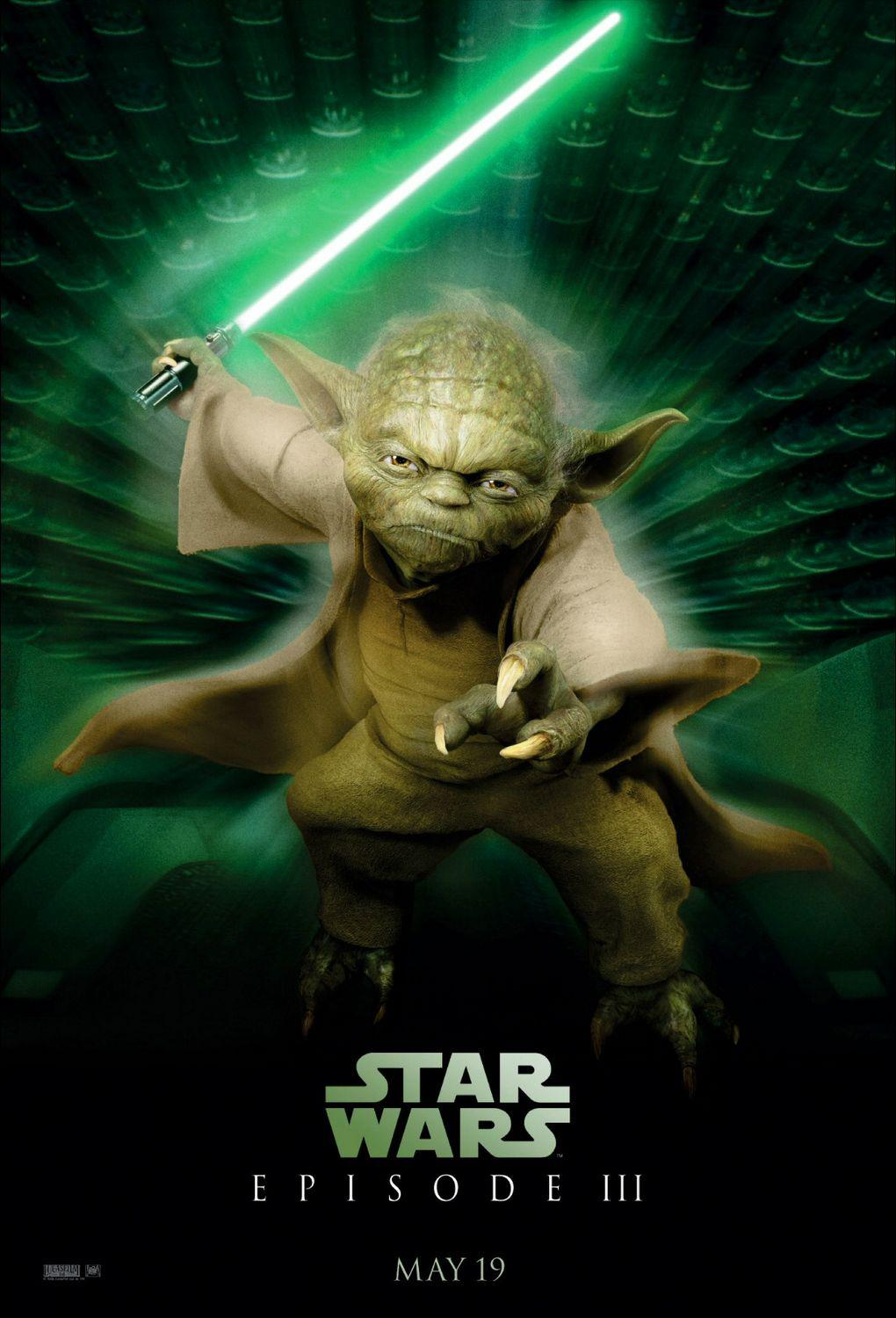 Star Wars 3 - la vendetta dei Sith - Revenge of the Sith - Yoda