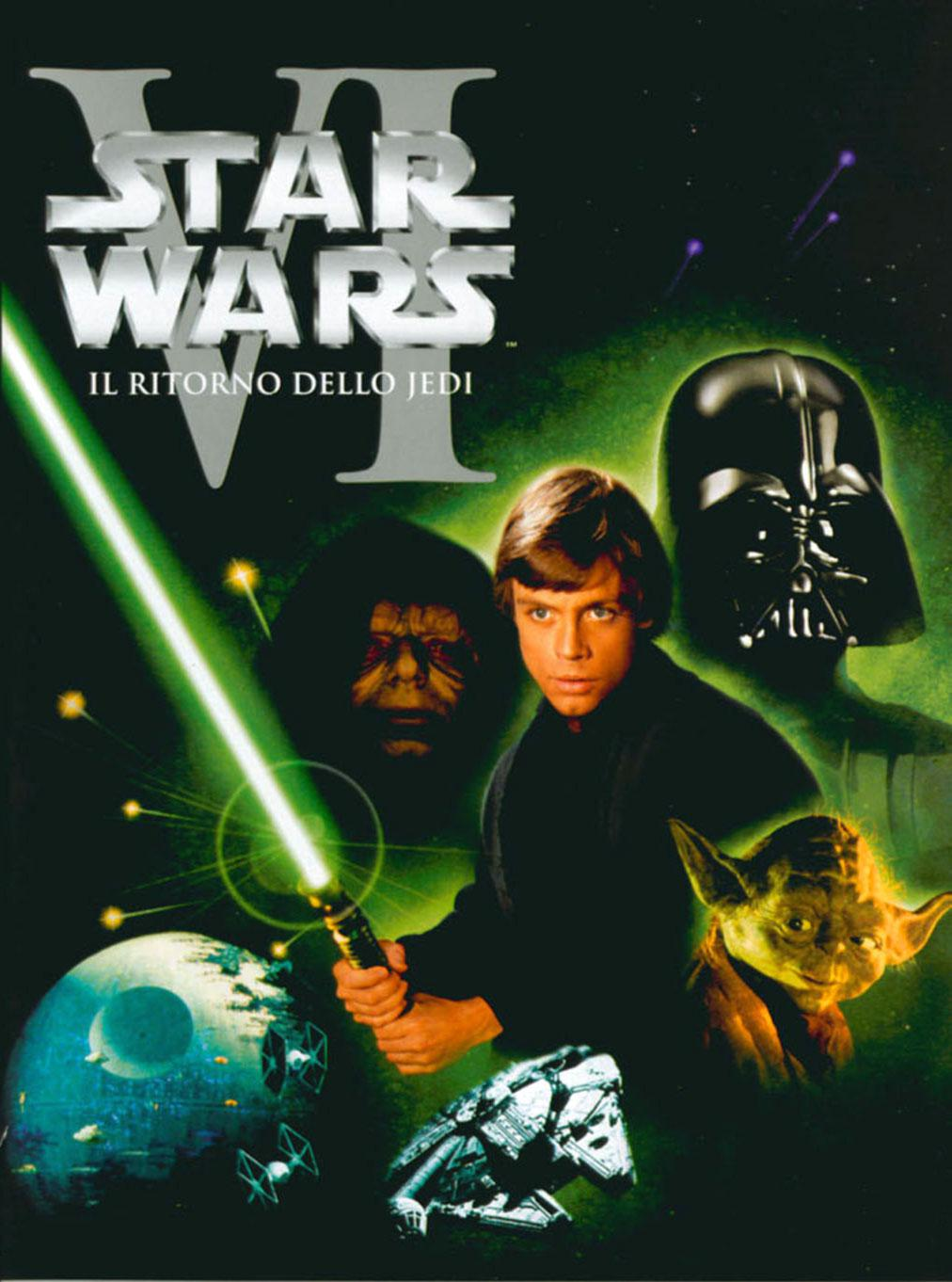 Star Wars 6 - Guerre Stellari 6 il ritorno dello Jedi - Return of Jedi