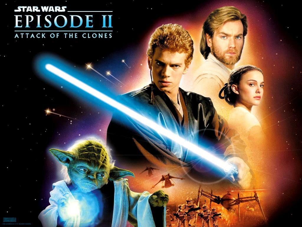 Star Wars II - Guerre Stellari episodio II Attacco dei Cloni - Attack of the Clones
