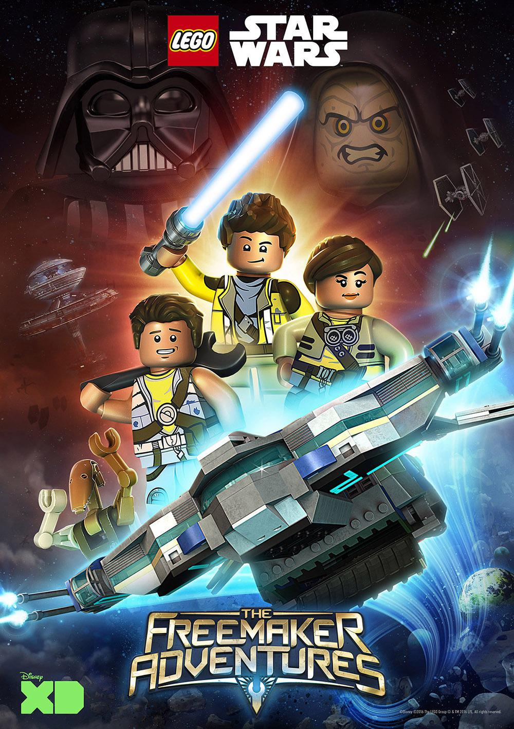 Star Wars Lego - LEGO Star Wars the freemaker adventures
