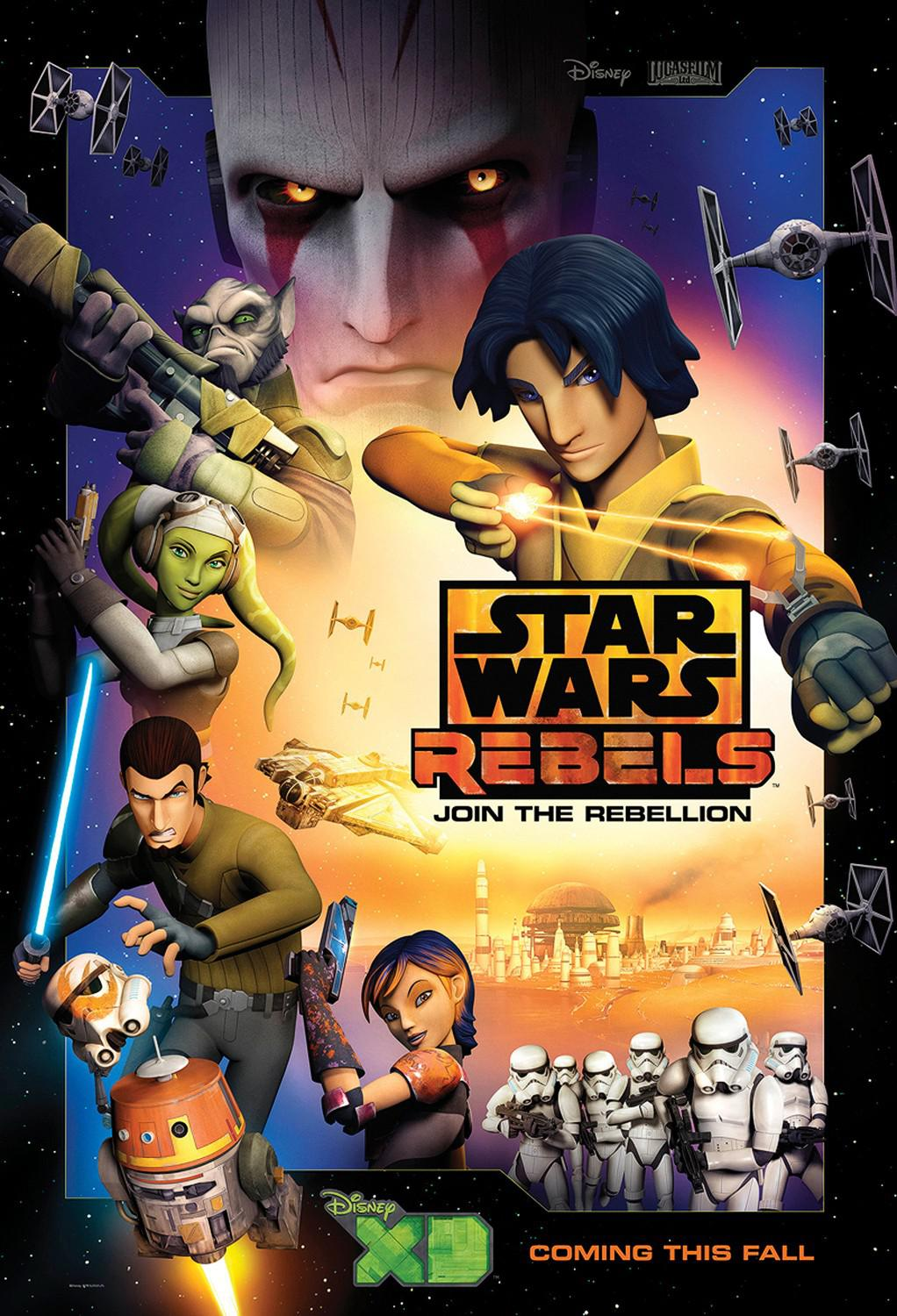 Star Wars Rebels - animated