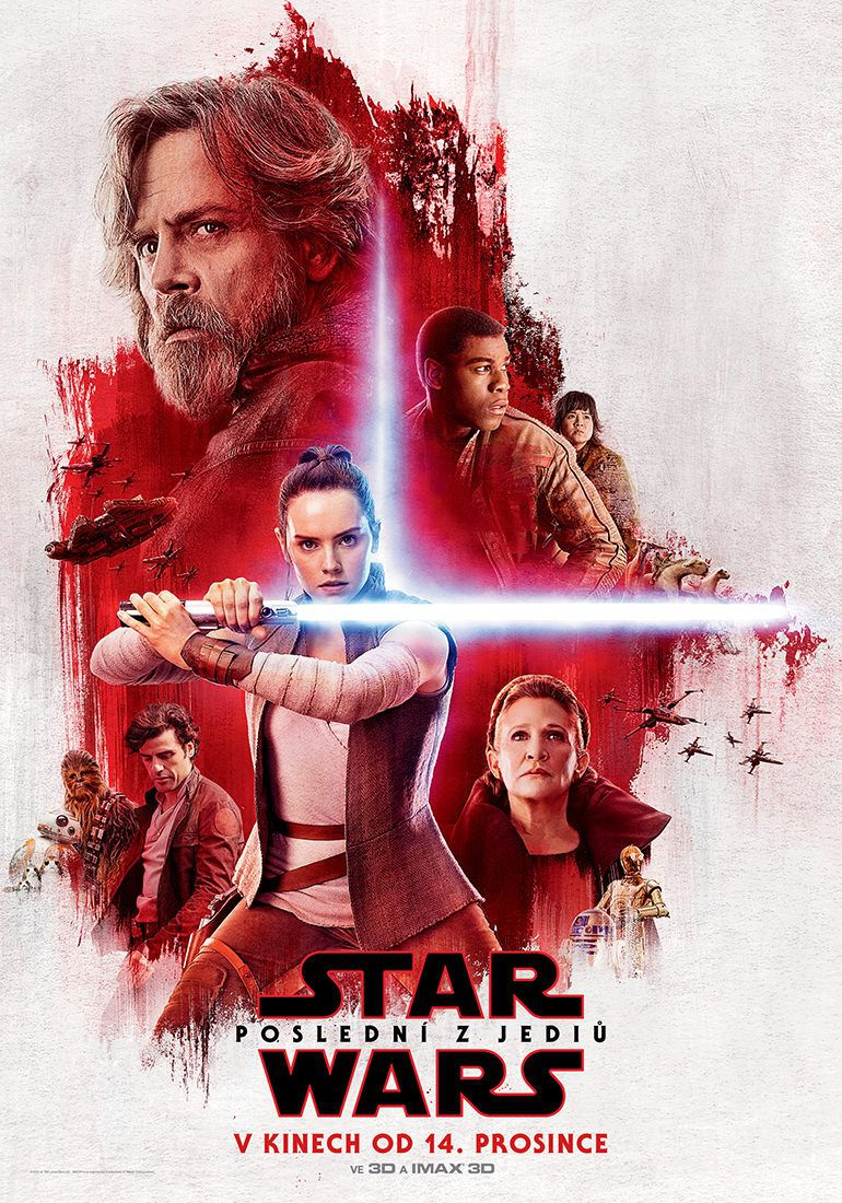 Star Wars 8 - The Last Jedi poster