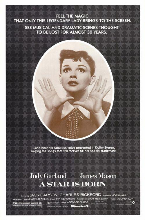 Star is born - Judy Garland - James Mason - Feel the Magic that only this legendary Lady brings to the screen. See Musical and Dramatic scenes throught to be lost for almost 30 years. ... and hear her faboulous voice presented in dolby stereo, singing the songs that will forever be her special trademark.