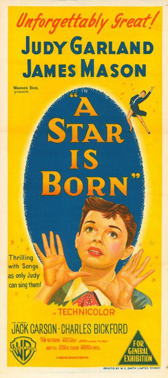 Star is born - Judy Garland - James Mason - Feel the Magic that only this legendary Lady brings to the screen. See Musical and Dramatic scenes throught to be lost for almost 30 years. ... and hear her faboulous voice presented in dolby stereo, singing the songs that will forever be her special trademark. - Jack Carlson - Charles Bickford