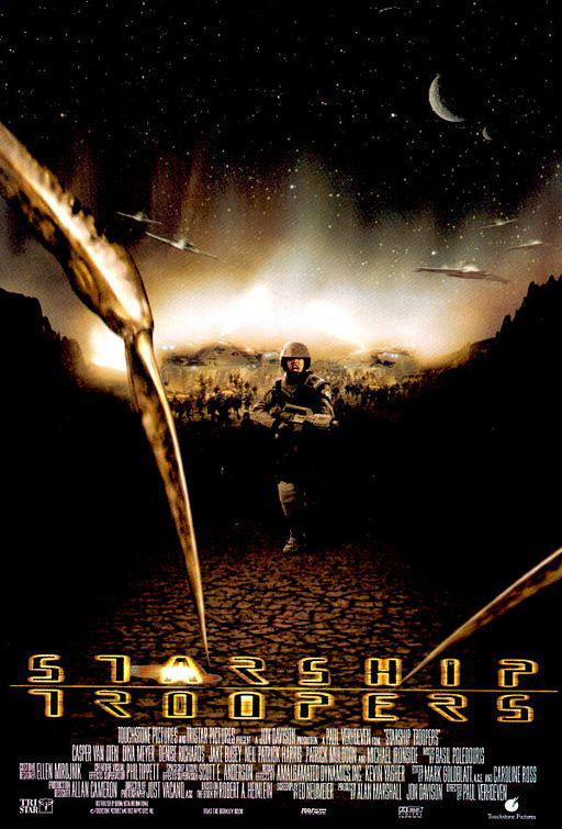 Starship troopers - poster