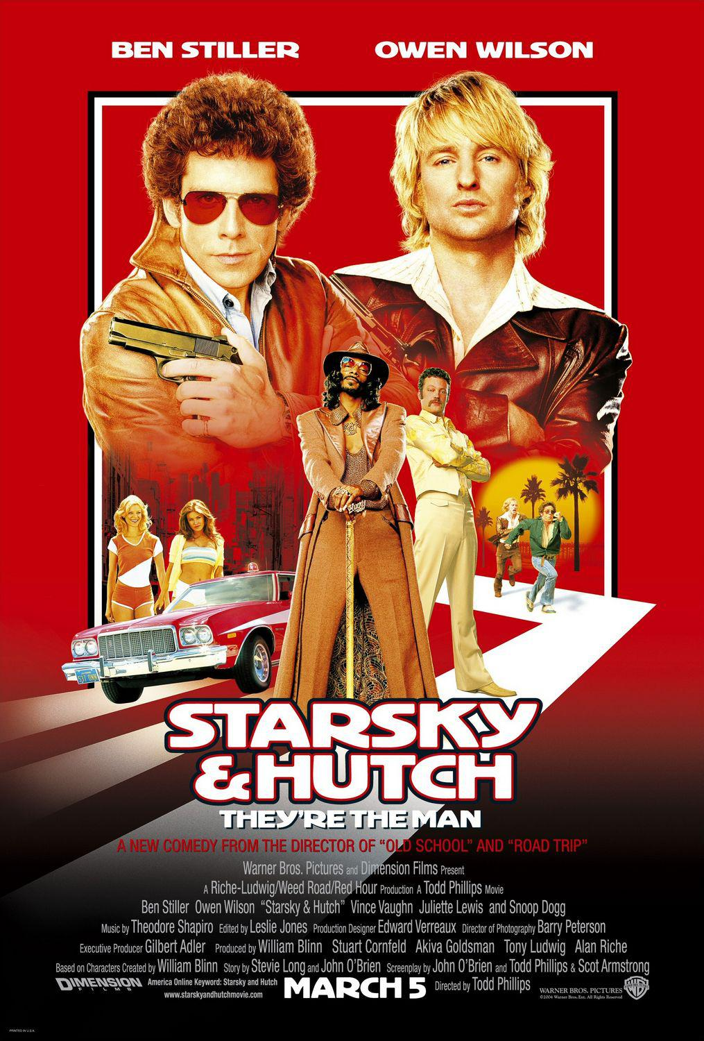 Starsky and Hutch ... film con Ben Stiller e Owen Wilson - They're the man. A new comedy.