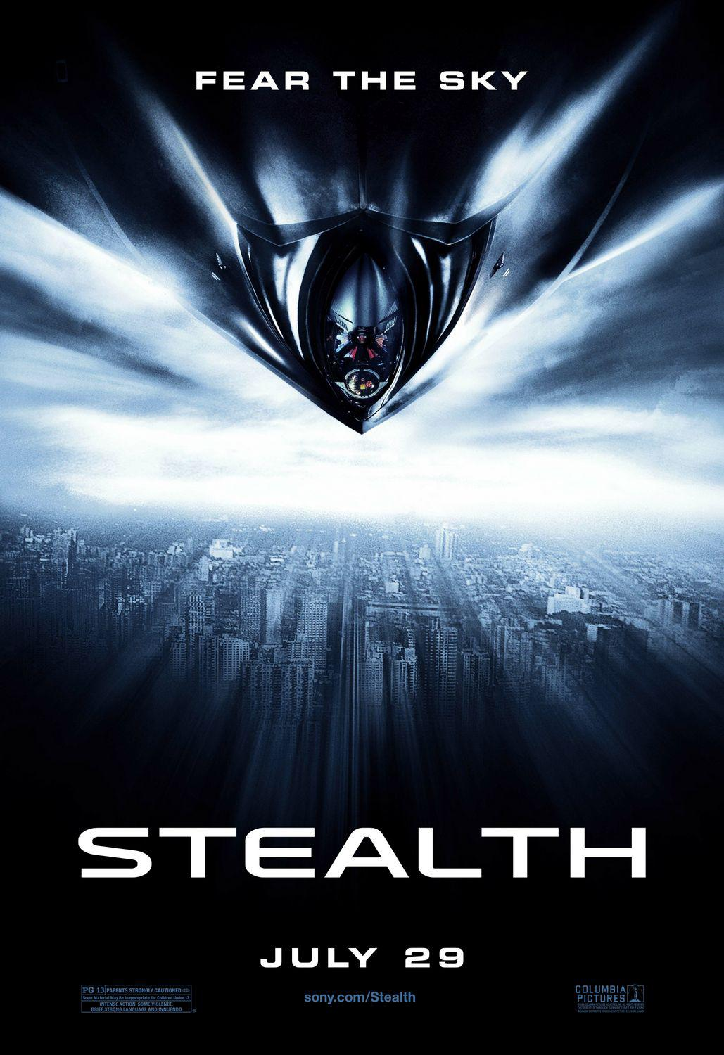 Stealth - poster - fear the sky