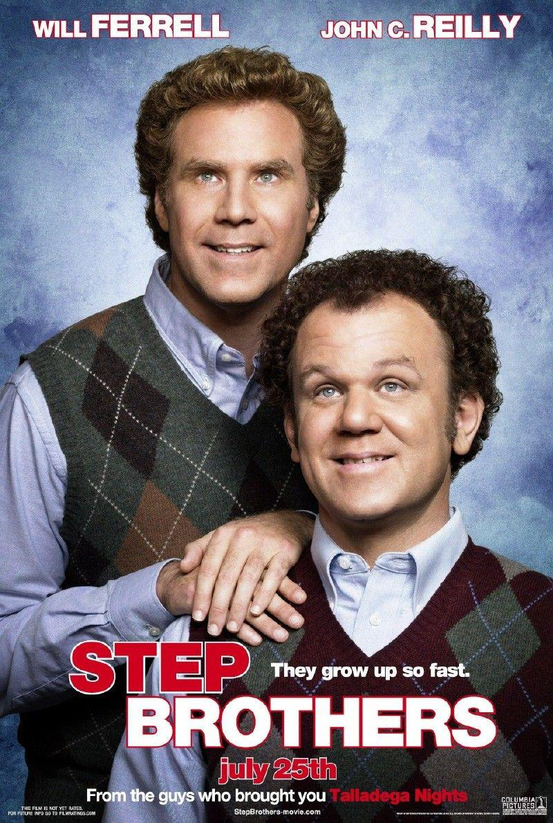 Step Brothers - film poster - Will Ferrell - John C. Reilly