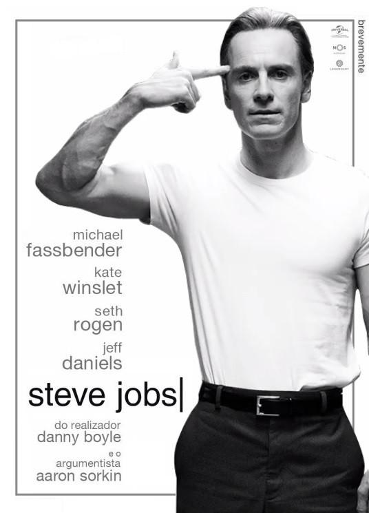 Steve Jobs - film biography - Michael Fassbender - poster
