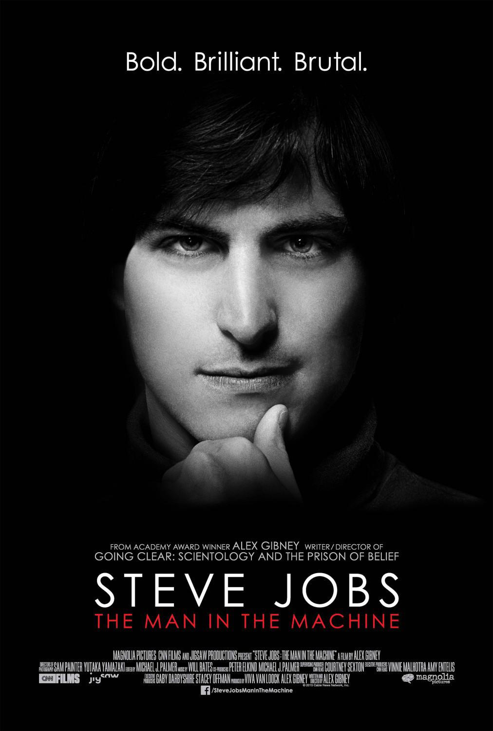 Steve Jobs Man in the Machine - film by Alex Gibney - poster