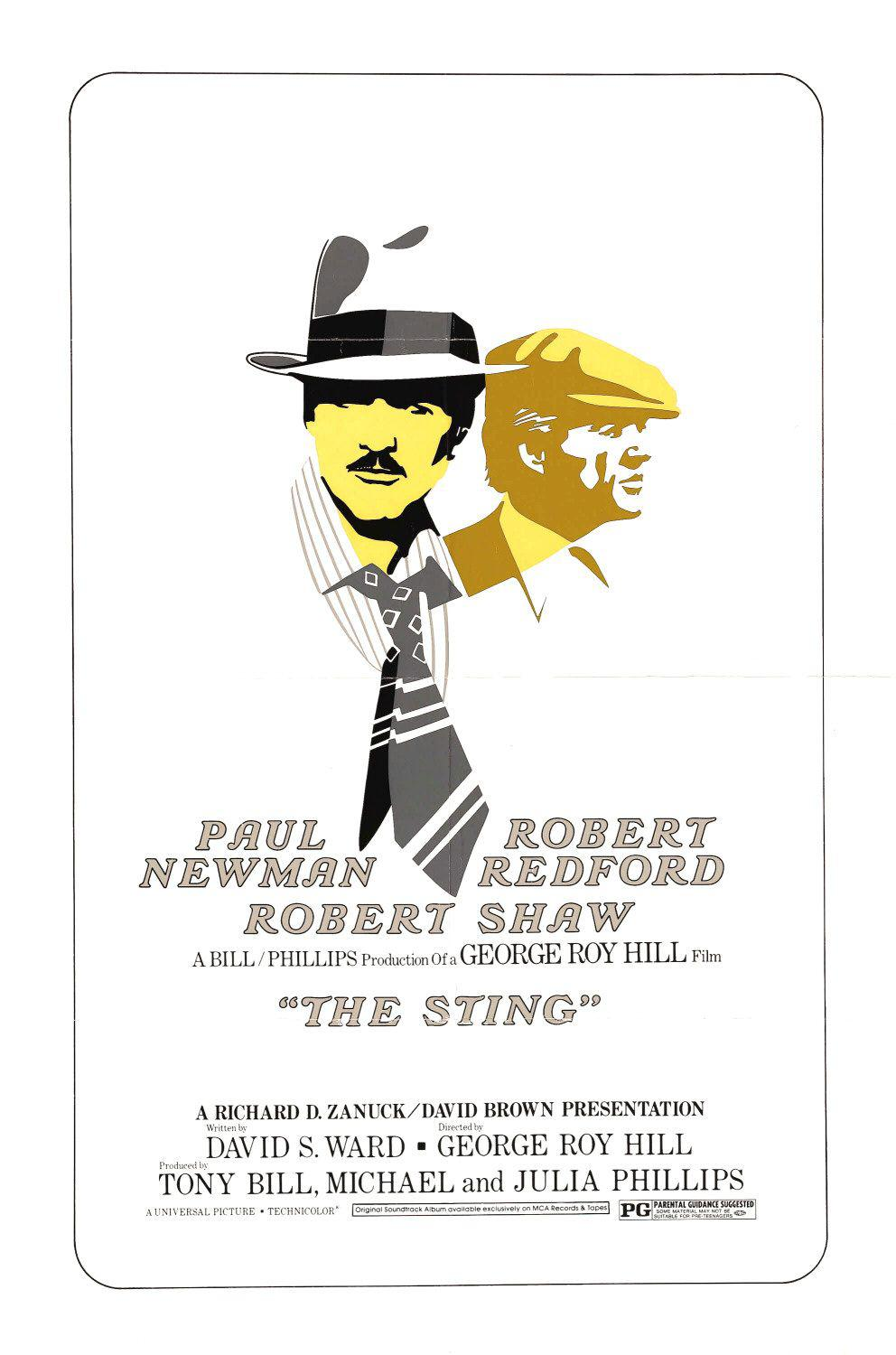 The Sting ... Paul Newman - Robert Redford - Robert Shaw