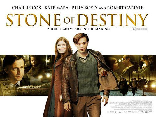 Stone of Destiny a heist 600 years in the making - Charlie Cox - Kate Mara - Billy Boyd - Robert Carlyle