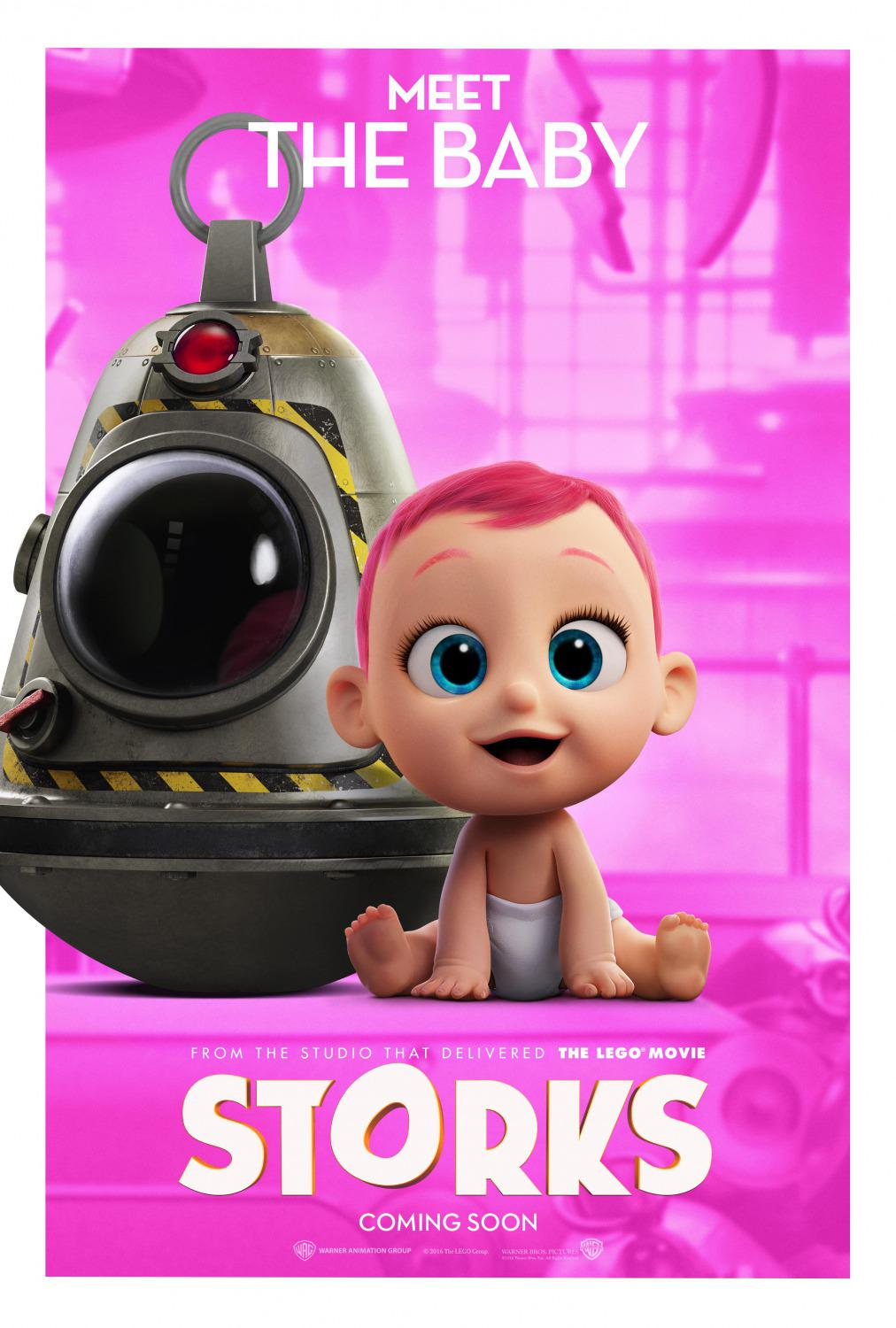 Storks - Cicogne - animated cartoon film